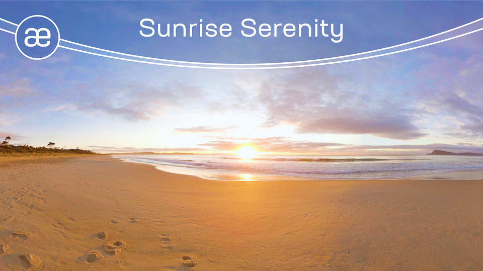 Sunrise Serenity | VR Meditation | 360° Video title=