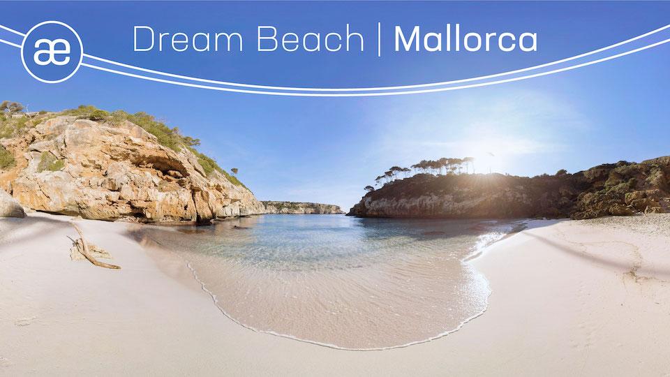 Dream Beach Mallorca | VR Nature Experience | 360° Video title=