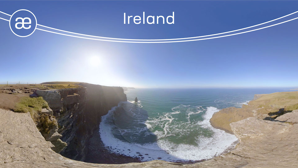 Ireland | VR Nature Experience | 360° Video title=