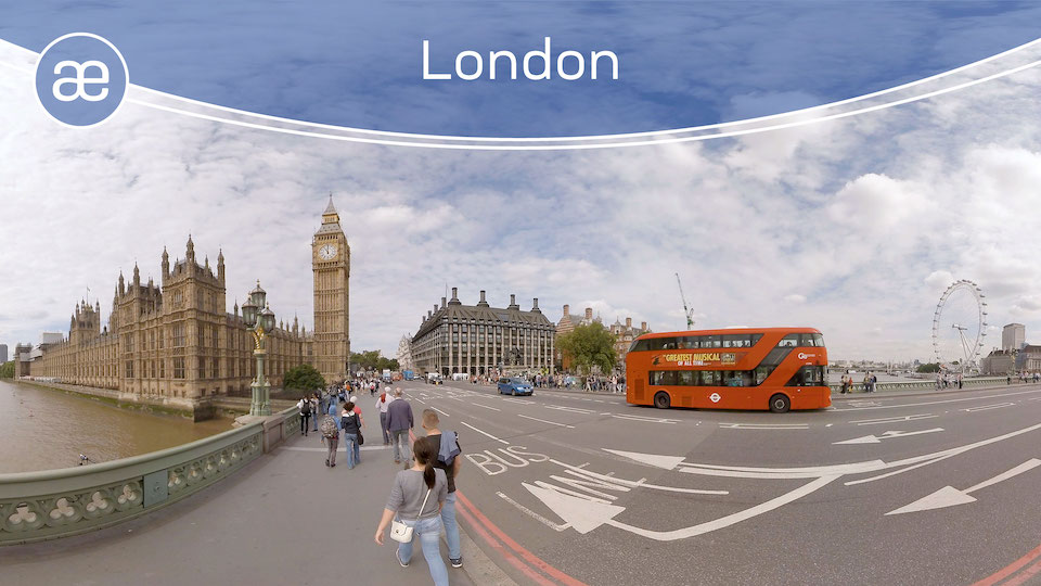 London | VR Travel | 360° Video title=