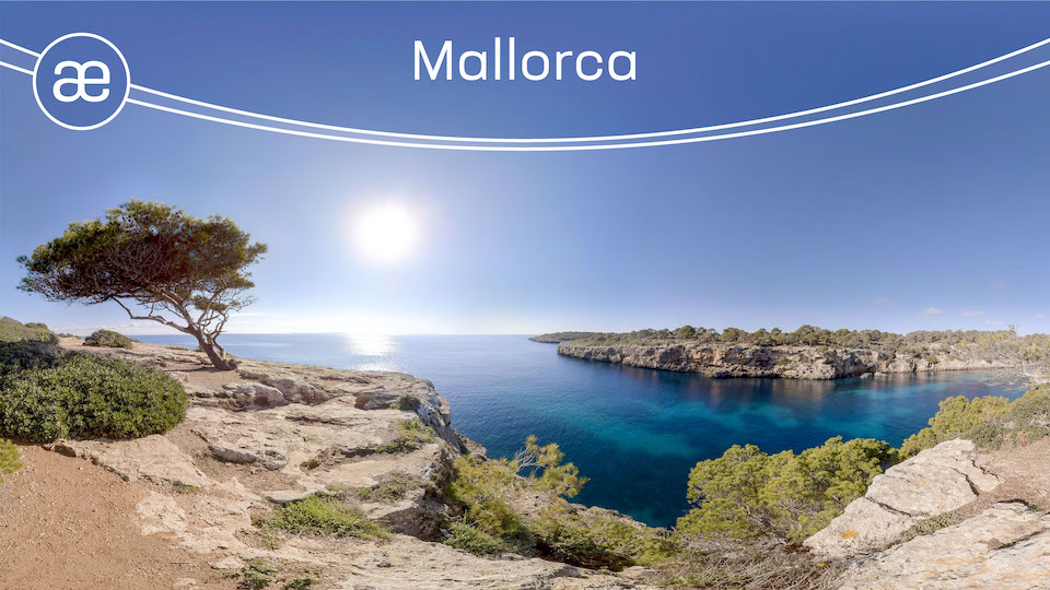 Mallorca | VR Nature Experience | 360° Video title=
