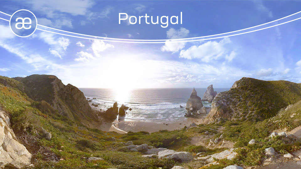 Portugal | VR Nature Experience | 360° Video title=