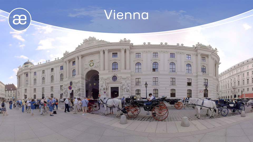 Vienna | VR Travel | 360° Video title=