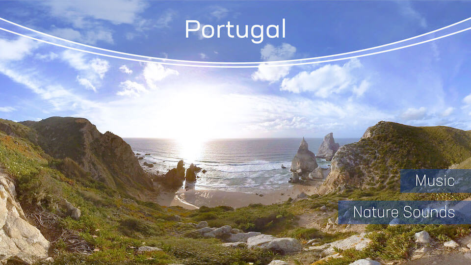 Portugal | VR Relaxation | 360° Video title=